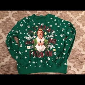 Elf Christmas ugly sweater